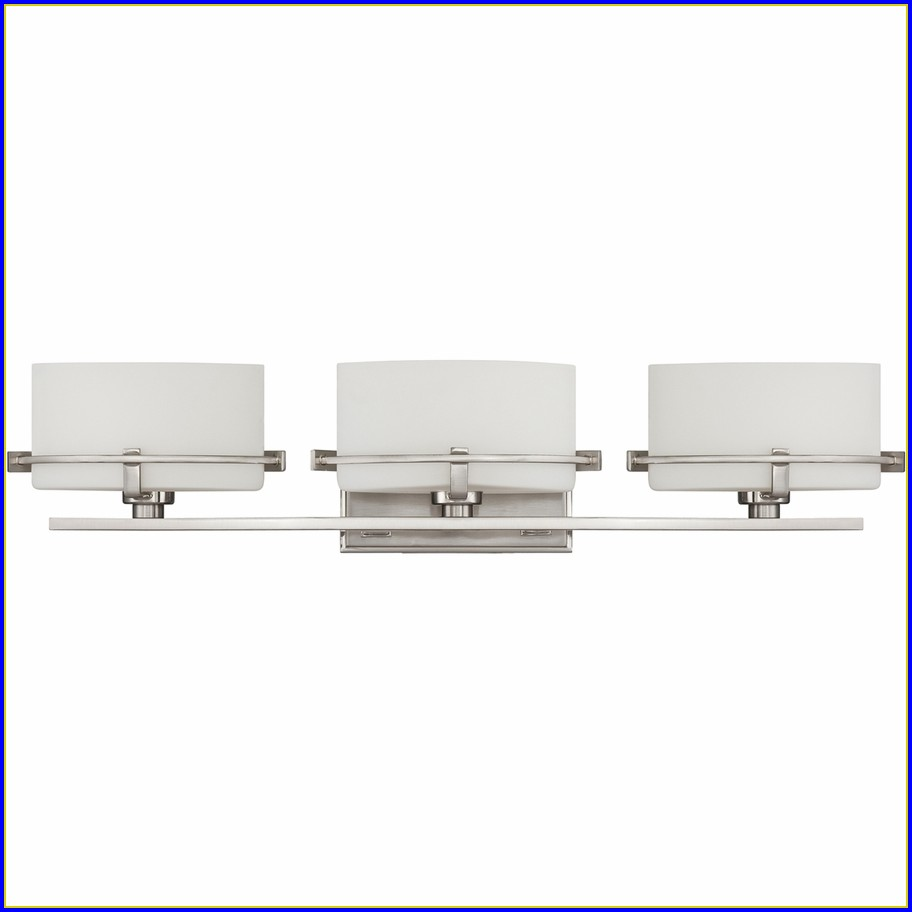 6 Light Bathroom Fixture Brushed Nickel