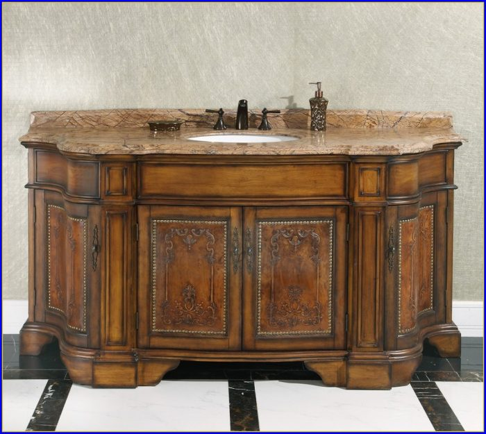 72 Inch Bathroom Vanity Single Sink
