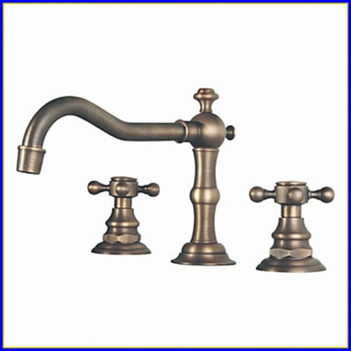 Antique Brass Bathroom Faucet Moen