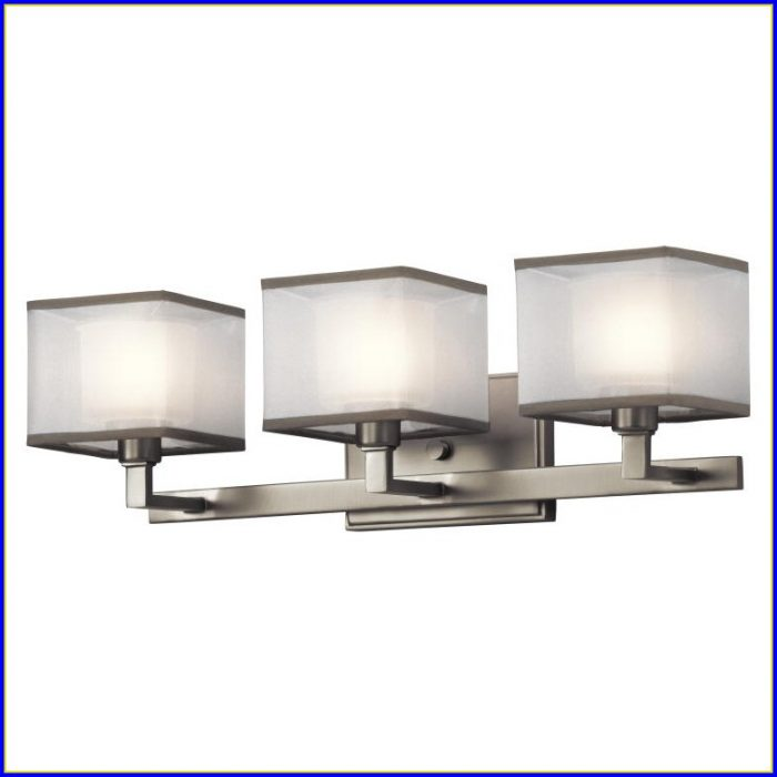 Bath Light Fixtures Brushed Nickel