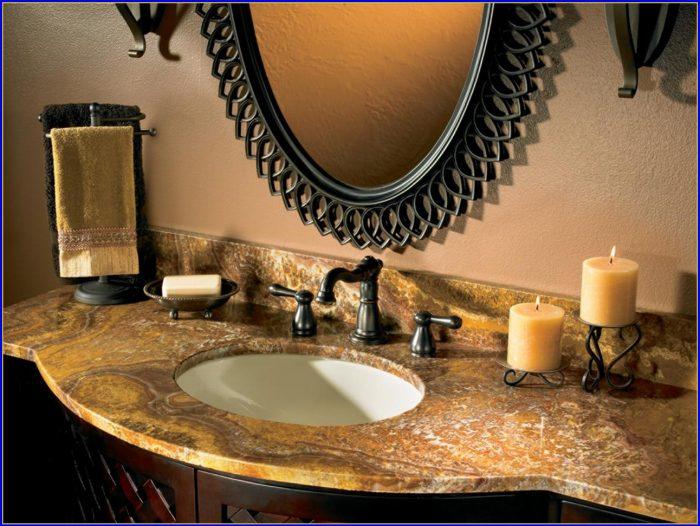 Bathroom Countertop Materials Comparison