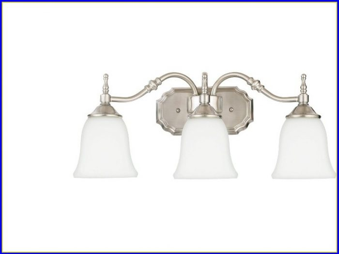 Bathroom Light Fixtures Brushed Nickel 48 Inches