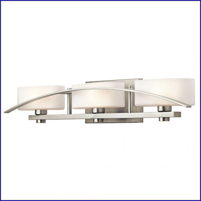 Bathroom Light Fixtures Brushed Nickel Finish