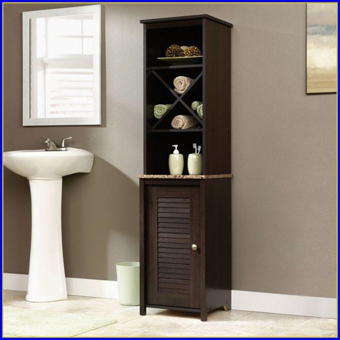 Bathroom Linen Tower Cabinet