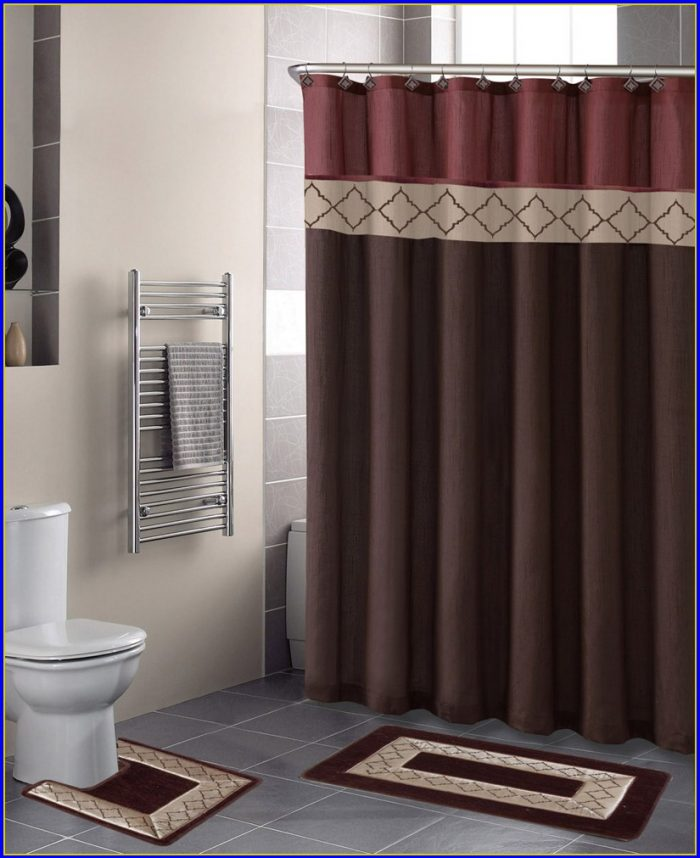 Bathroom Rug Sets With Elongated Lid Cover