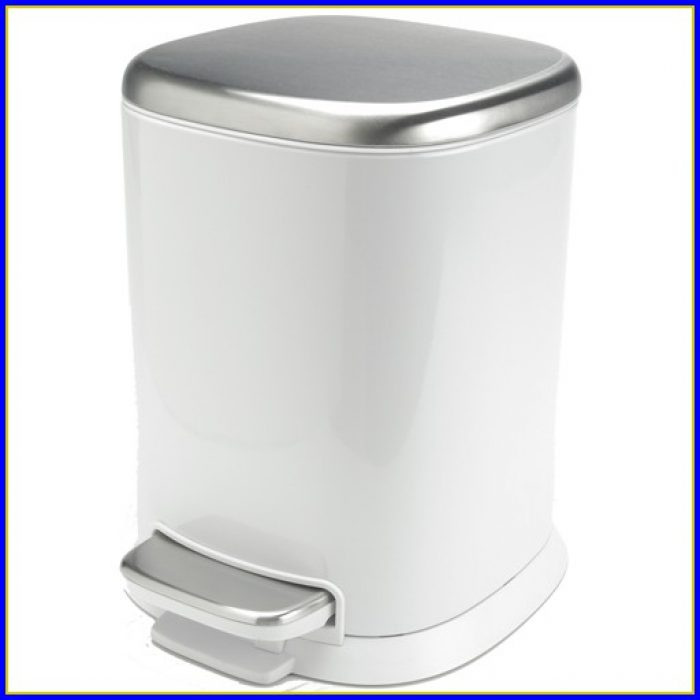 Bathroom Trash Bin With Lid