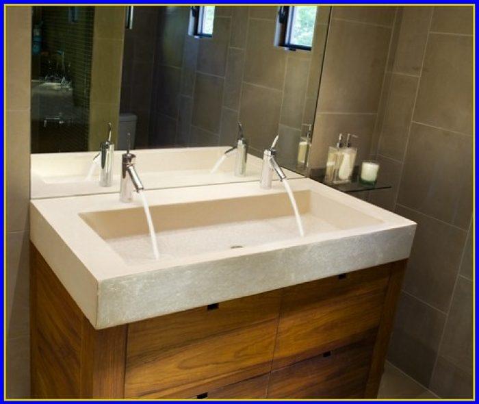 Bathroom Trough Sink Canada