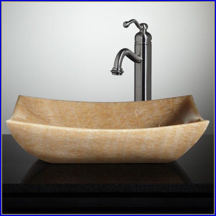 Bathroom Vessel Sinks Stone