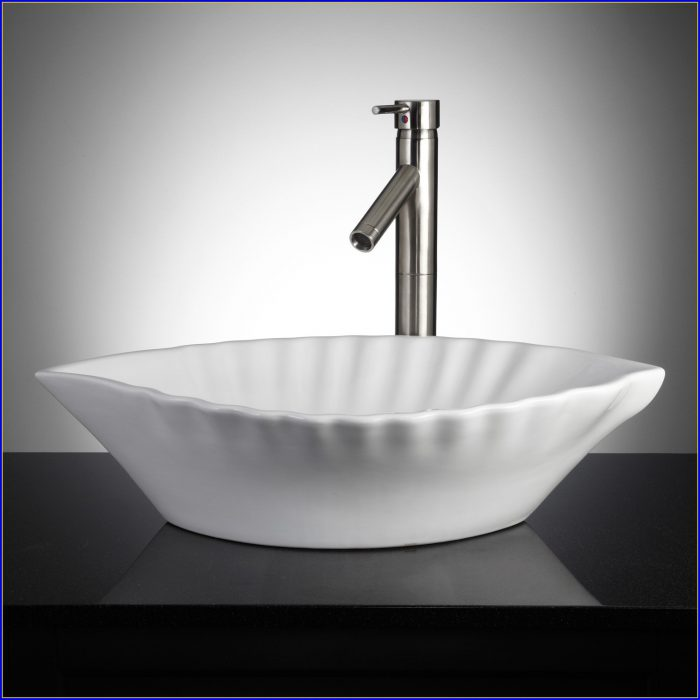 Bathroom Vessel Sinks White