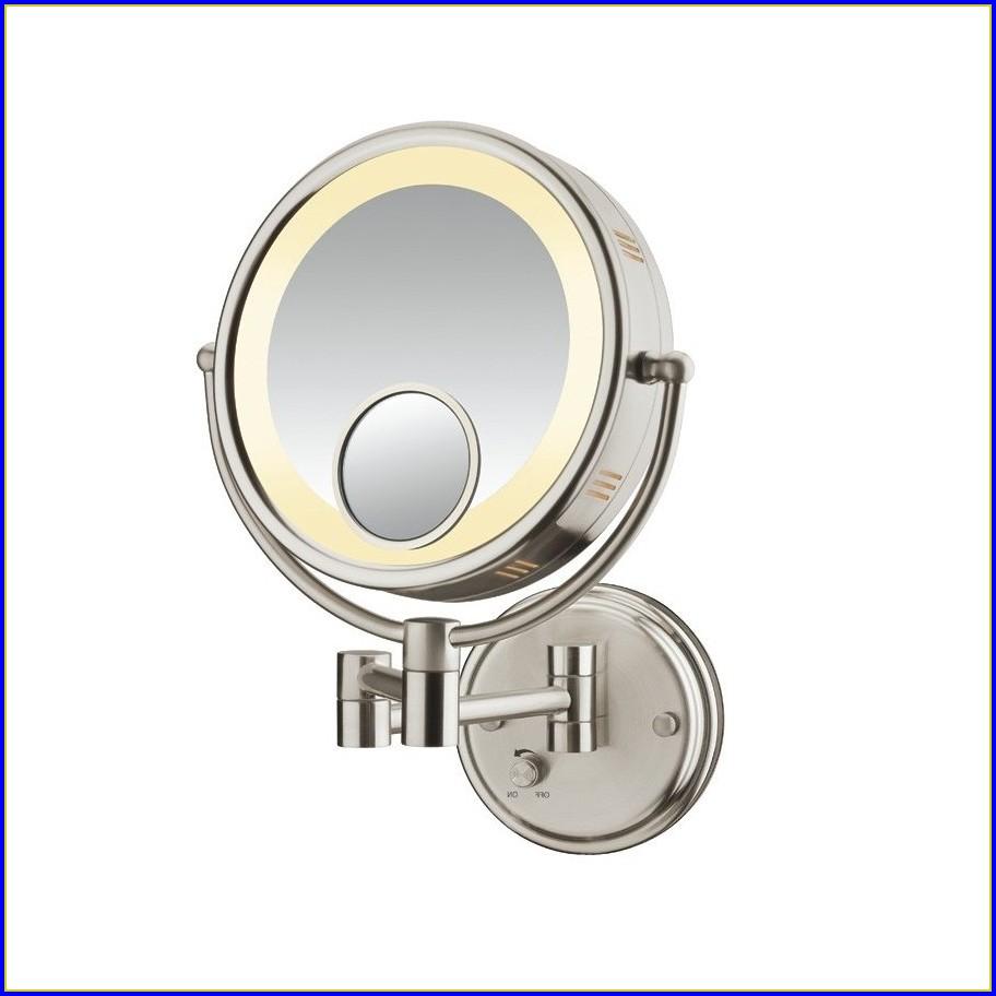 Brushed Nickel Bathroom Vanity Mirrors