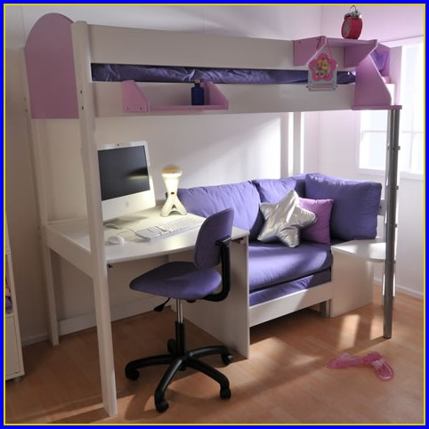 Bunk Bed With Desk Amazon