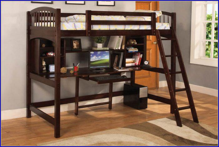 Bunk Bed With Desk Underneath Argos