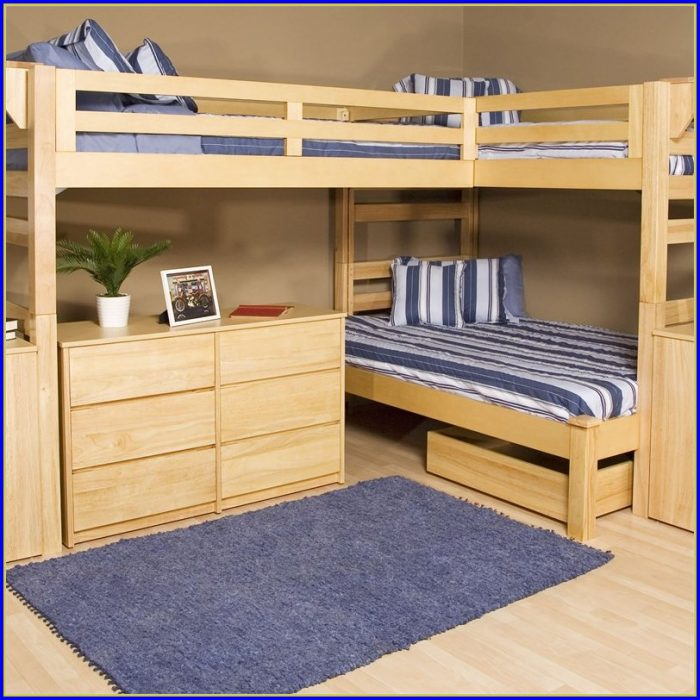 Bunk Beds With Desk Underneath Ikea