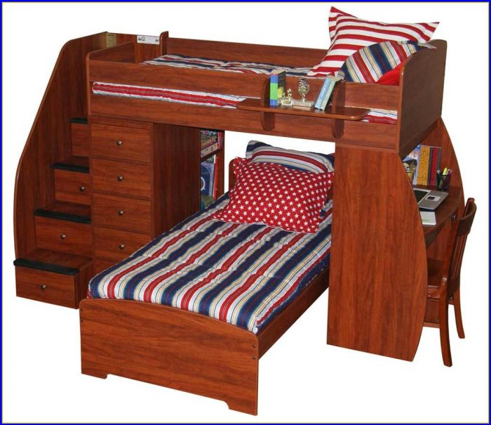 Bunk Beds With Stairs And Drawers