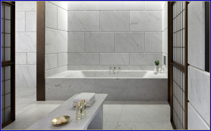 Carrara Marble Bathroom Designs
