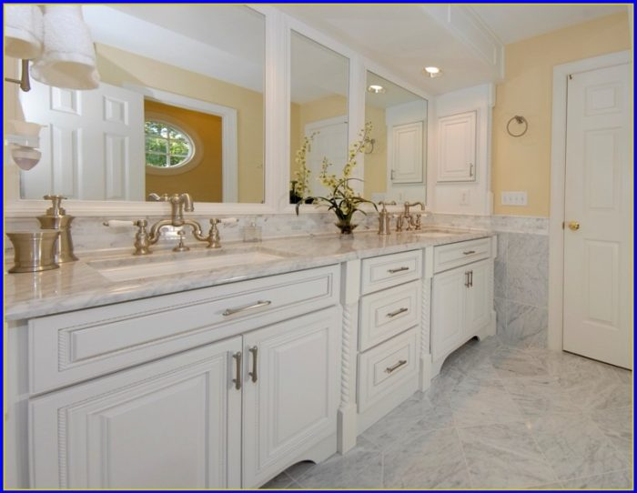 Carrara Marble Bathroom Floor