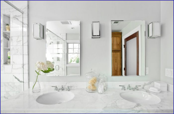 Carrara Marble Bathroom Sink