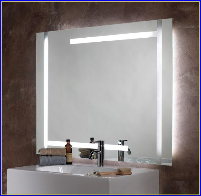 Lighted Bathroom Mirror Medicine Cabinet