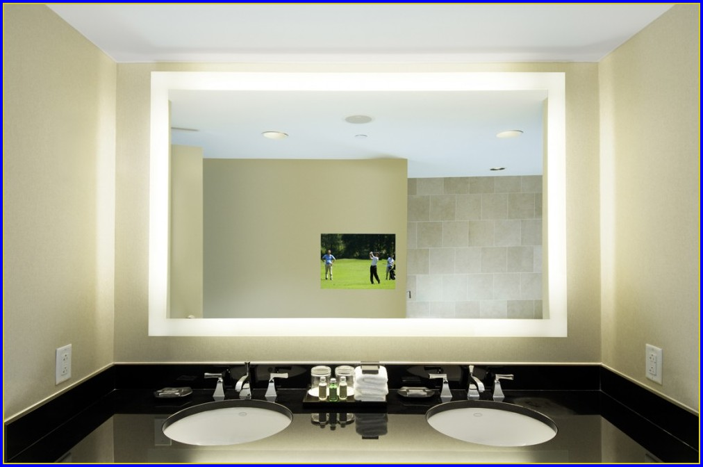 Lighted Bathroom Mirrors Canada