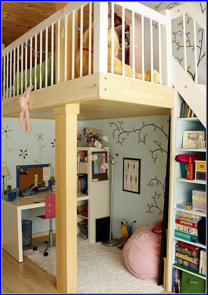 Loft Bed With Desk Underneath Nz