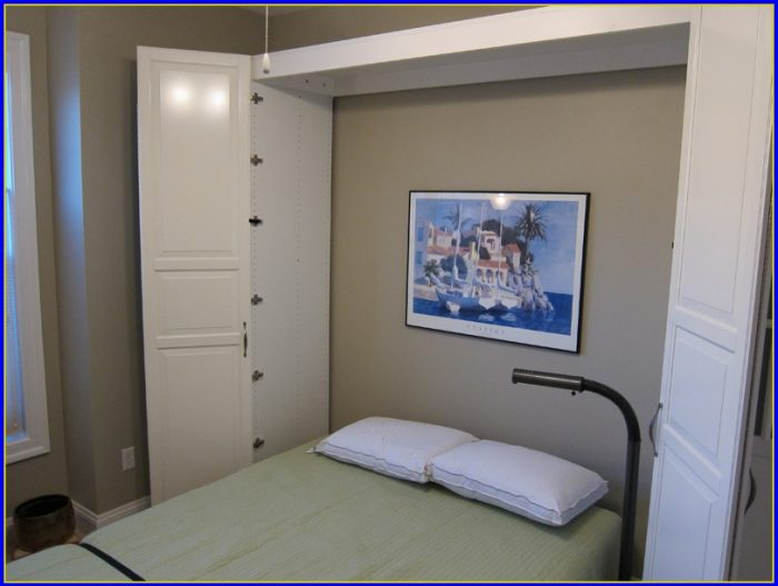 Murphy Bed Ikea Canada Bedroom Home Design Ideas