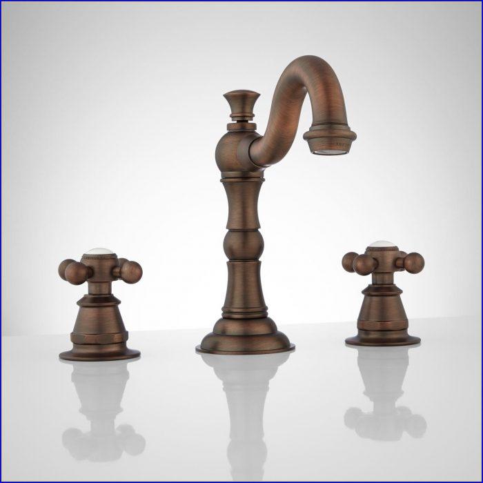 Oil Rubbed Bronze Bathroom Faucet Single Handle