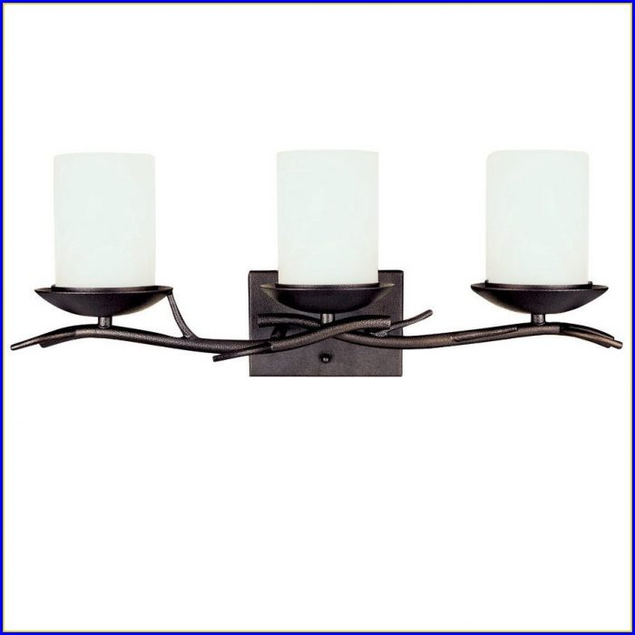 Oil Rubbed Bronze Bathroom Light And Fan