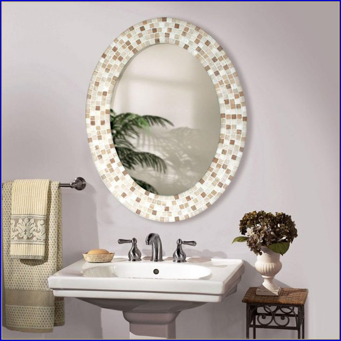 Oval Bathroom Mirrors Amazon