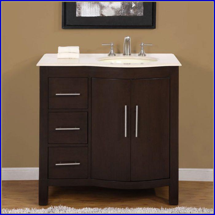 Overstock Single Bathroom Vanity