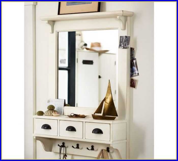 Pottery Barn Oval Bathroom Mirror