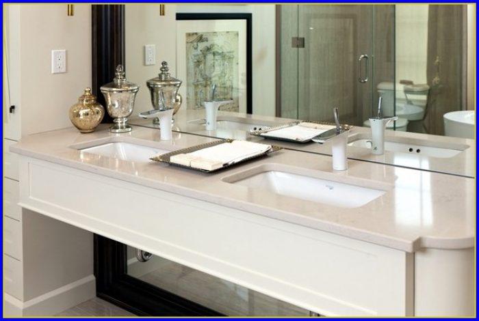 Quartz Bathroom Countertops Ideas