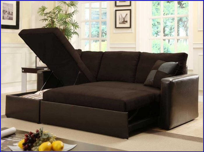Sectional Sofa Bed Leather