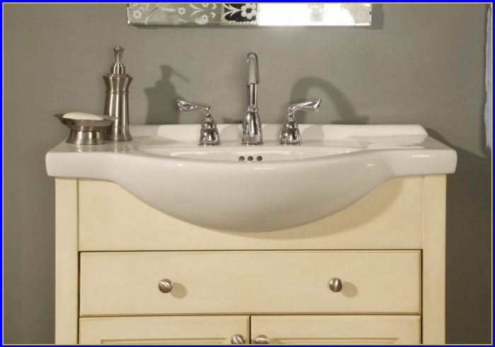 Shallow Depth Bathroom Vanity