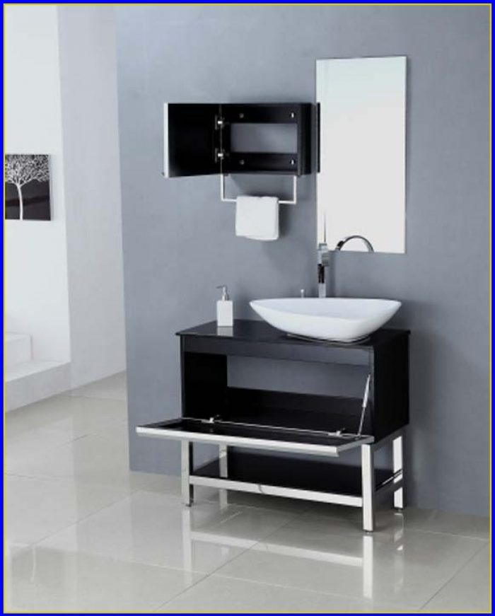 Single Sink Bathroom Vanity With Top