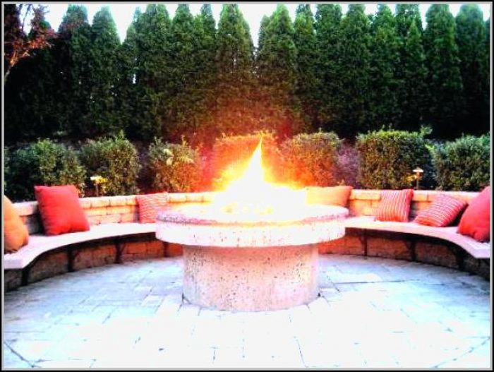Stone Patio Fire Pit