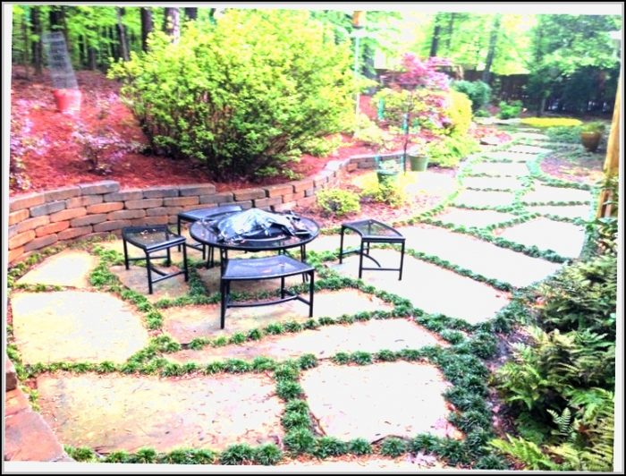 Stone Patio Ideas Pinterest