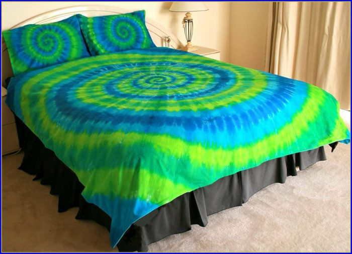 Tie Dye Bedding Amazon