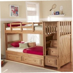 Twin Loft Bed With Stairs
