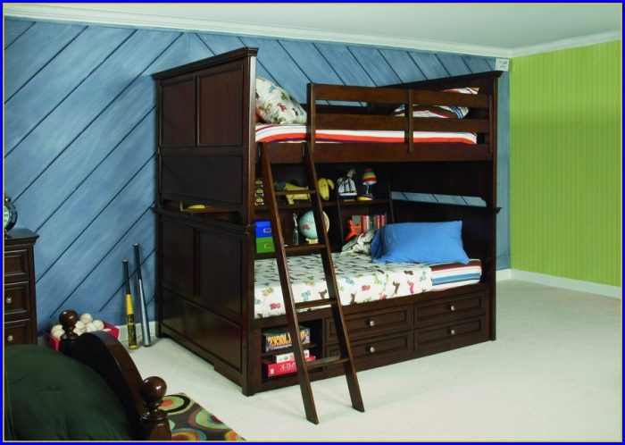 Twin Over Full Bunk Bed With Stairs Assembly Instructions