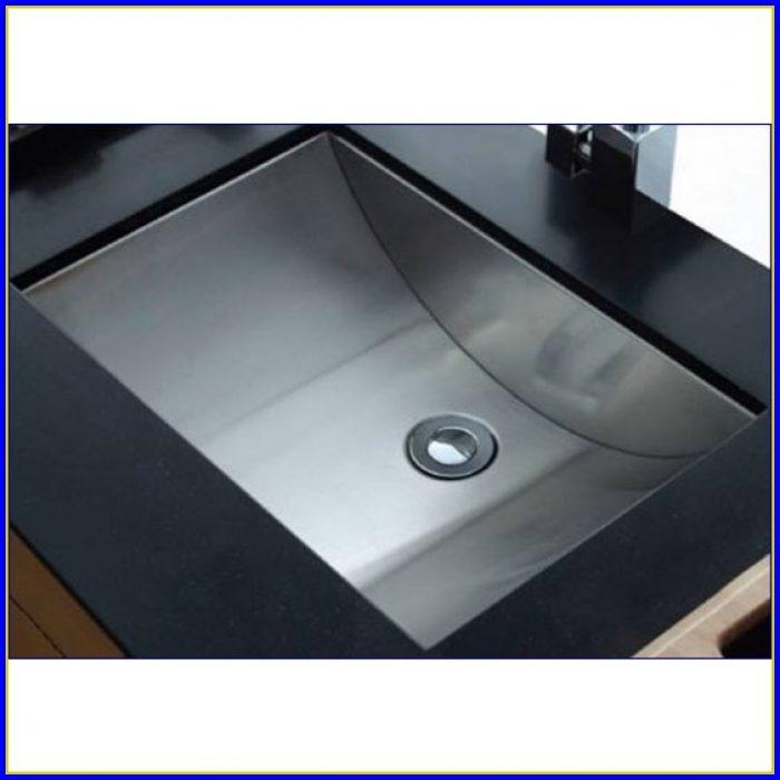 Undermount Bathroom Sink Rectangular