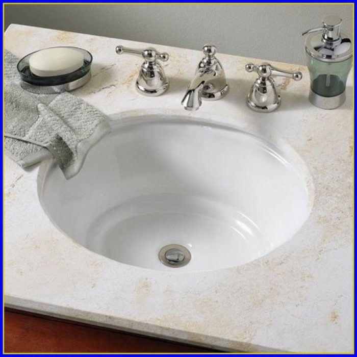 Undermount Bathroom Sinks With Faucet Holes