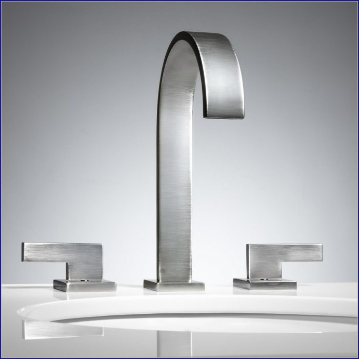 Widespread Bathroom Faucet Bronze