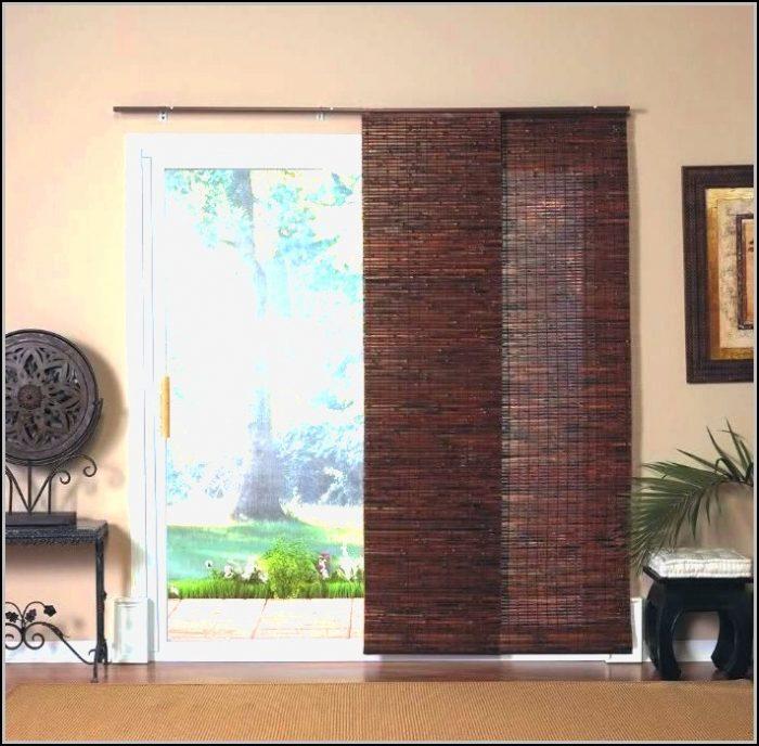 Wooden Patio Door Blinds