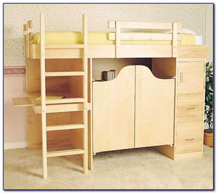 Bunk Bed Desk Combo Pottery Barn