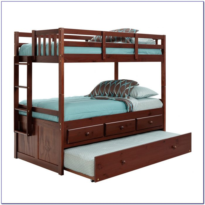 Bunk Bed Trundle And Drawers