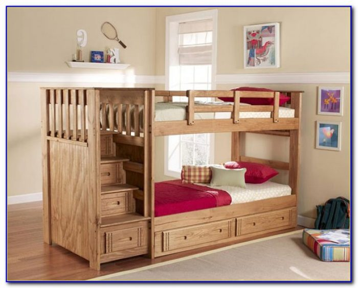 Bunk Beds With Steps And Slide