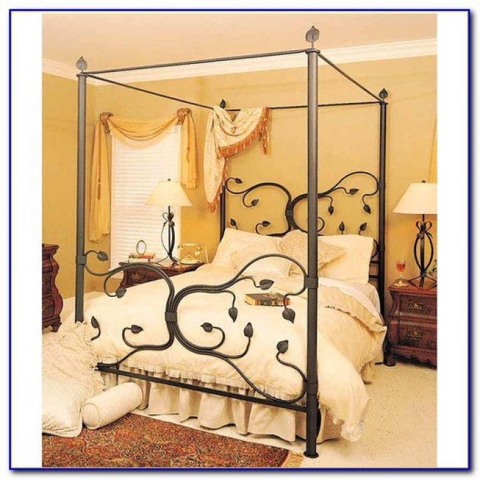 Iron Canopy Bed Uk