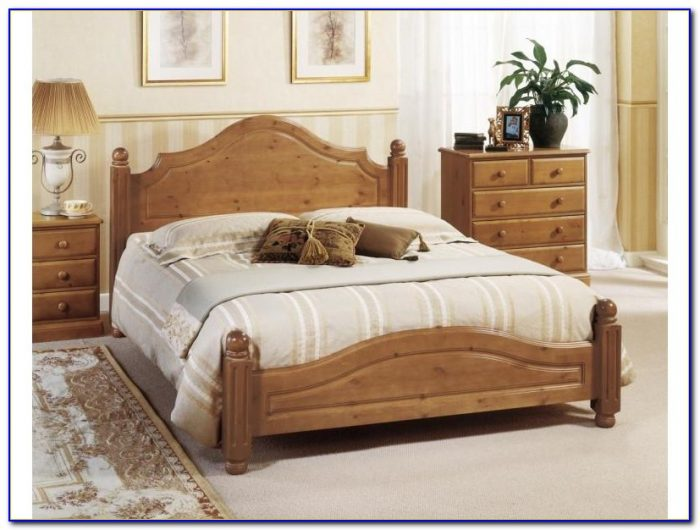 King Size Bed Frame Dimensions Inches