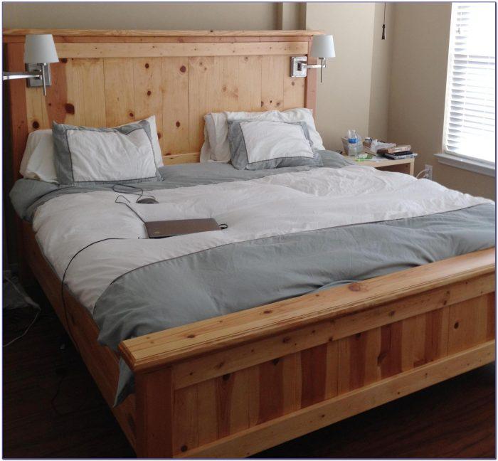King Size Bed Frame Dimensions Uk