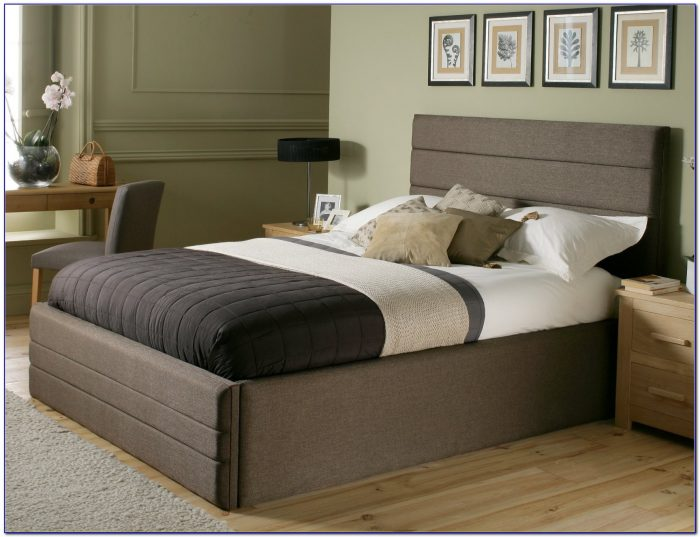 King Size Metal Bed Frame Dimensions